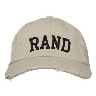 Chapéu bordado margem bonés