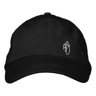 Chapéu bordado Monogrammed das senhoras Boné
