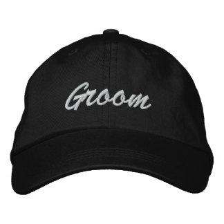 Chapéu bordado noivo boné bordado