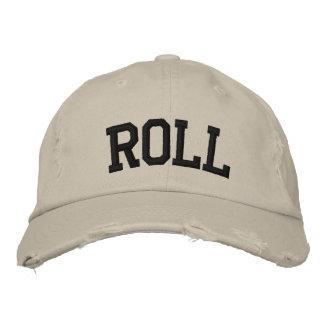 Chapéu bordado rolo