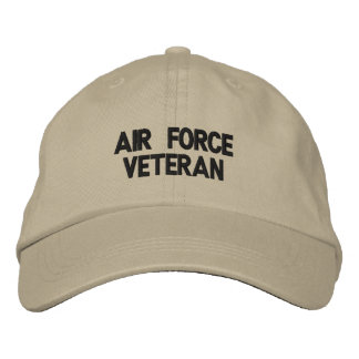 Chapéu bordado veterano da força aérea boné bordado