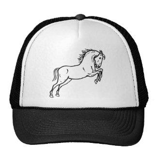 Chapéu com um design do cavalo boné