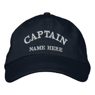 Chapéu conhecido do marinheiro dos capitães boné bordado