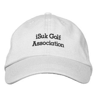 chapéu da associação do golfe do iSuk Boné Bordado