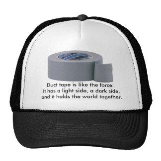 Chapéu da fita adesiva boné