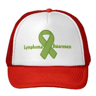Chapéu da fita da consciência do linfoma bones