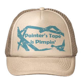 Chapéu da fita dos pintores bones
