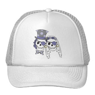 Chapéu da lavanda dos crânios do pirata do boné