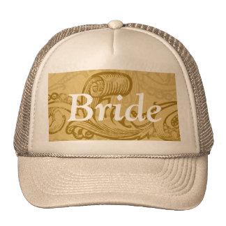 Chapéu da noiva boné