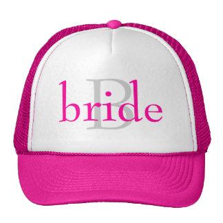 "chapéu da ""noiva"" boné"