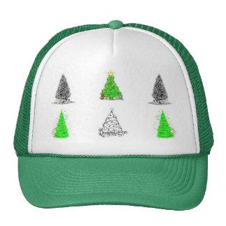 Chapéu das árvores de Natal Boné