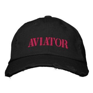 Chapéu de basebol do aviador boné bordado