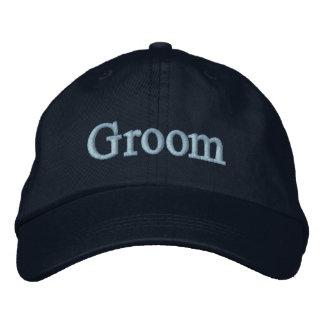 Chapéu de basebol do noivo boné bordado
