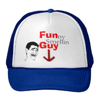Chapéu de cheiro engraçado da cara boné