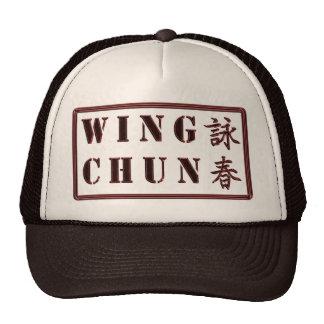 Chapéu de Chun da asa Boné