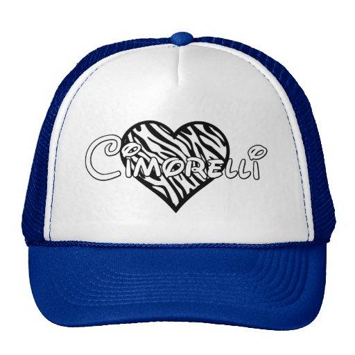 Chapéu de Cimorelli - coração da zebra Boné