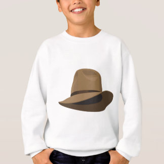 Chapéu de Fedora arbusto Tshirt