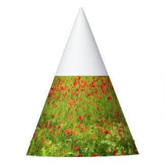 Chapéu De Festa A papoila maravilhosa floresce VII - Wundervolle