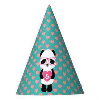 Chapéu De Festa Aniversário bonito da panda