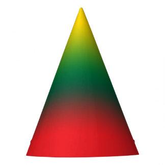 Chapéu De Festa Bandeira do inclinação de cores de Lithuania