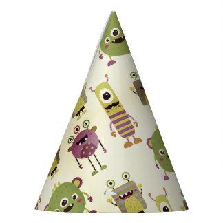 Chapéu De Festa Os monstro pequenos bonitos projetam para miúdos