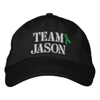 Chapéu de Jason da equipe Bones Bordados