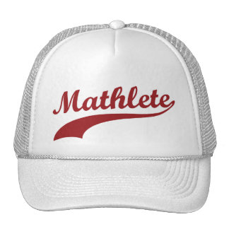 Chapéu de Mathlete Boné