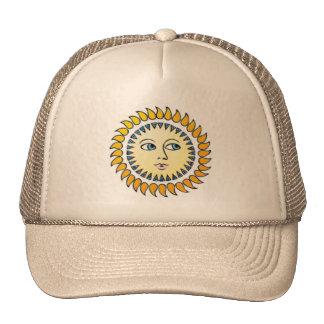 Chapéu de Musica Sun da íris Boné