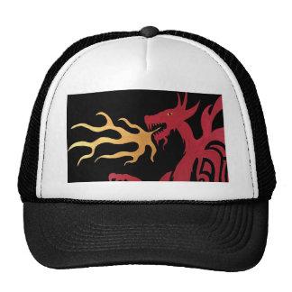 Chapéu de respiração do dragão do fogo boné