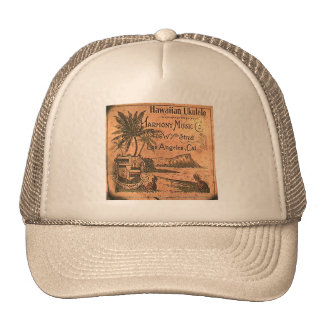 Chapéu de Ukelele do vintage Boné