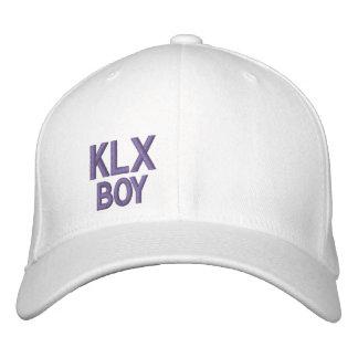 Chapéu do ajustado do cabo flexível do menino de boné bordado