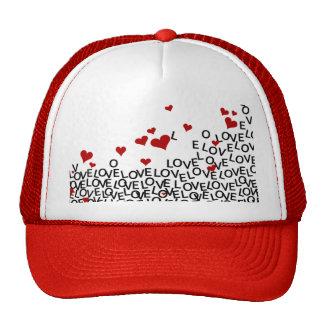Chapéu do amor do dia dos namorados boné
