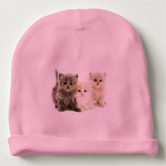 Chapéu do bebê do gatinho gorro para bebê