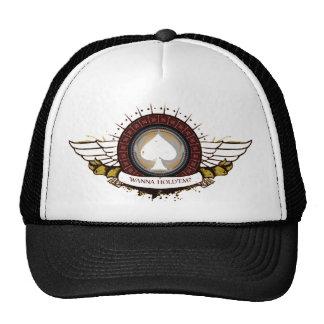 Chapéu do camionista das asas boné