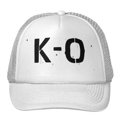 Chapéu do camionista de K-O Bonés