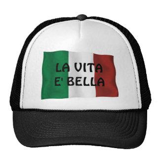 Chapéu do camionista de Vita E Bella do LA Boné