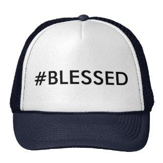 Chapéu do camionista do #BLESSED de Hashtag Boné