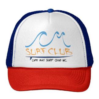 Chapéu do camionista do clube do surf de Cape May Boné