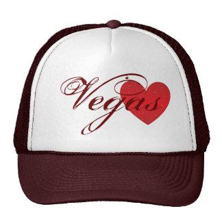 Chapéu do camionista do coração de Vegas Bone