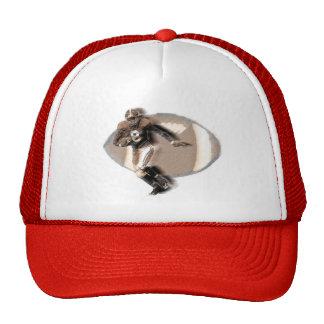 Chapéu do camionista do jogador de futebol boné