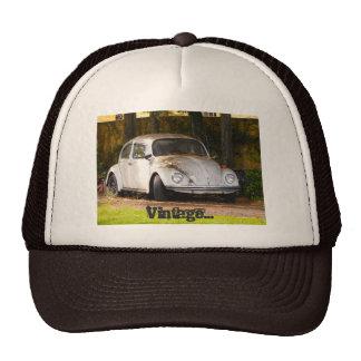 chapéu do camionista do vintage boné