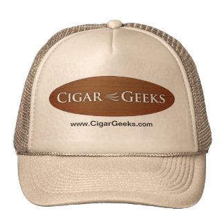 Chapéu do camionista dos geeks do charuto boné