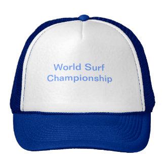 Chapéu do campeonato do surf boné