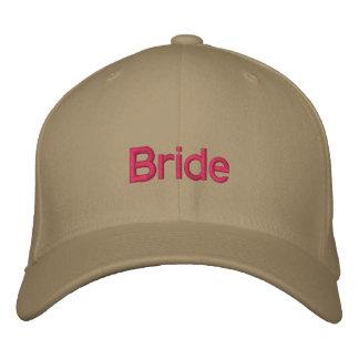 Chapéu do casamento da noiva boné bordado