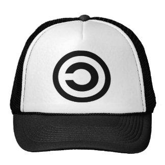 chapéu do copyleft boné