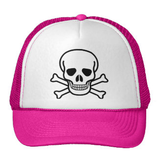 chapéu do crânio boné