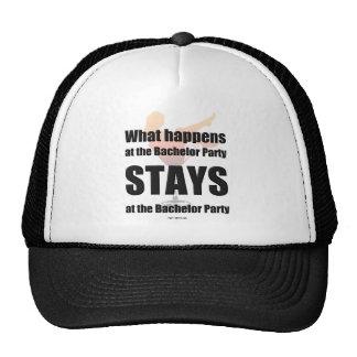 Chapéu do despedida de solteiro boné