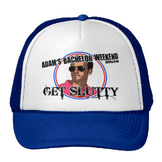 Chapéu do despedida de solteiro de Adam Boné