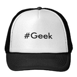 Chapéu do hashtag do geek boné