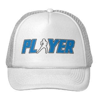 Chapéu do jogador de futebol boné